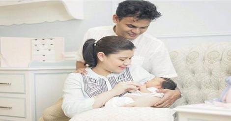 Lisa Surihani & Yusry KRU Kongsi Gambar Pertama Anak Secara Eksklusif